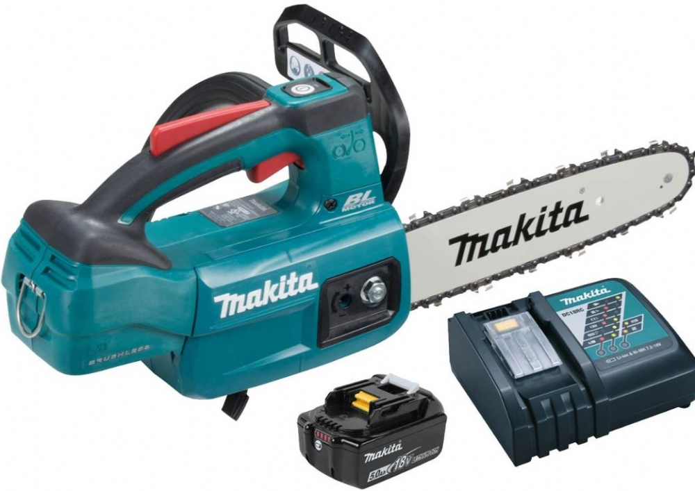 Makita DUC254RT 18v LXT Top Handle Chainsaw 25cm